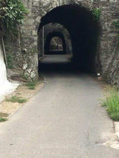 鵜原理想郷ハイキングコースの入口