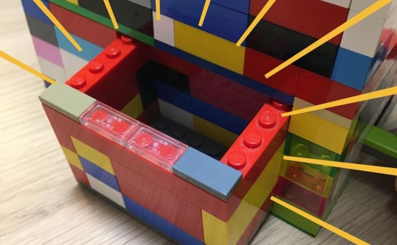 レゴのからくり箱ひみつの箱でた