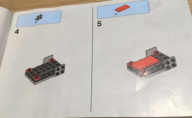 レゴの説明書は文言なし