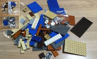 レゴ マインクラフト巨大クリーパー像の鉱山2パック目