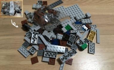 レゴ マインクラフト巨大クリーパー像の鉱山3パック