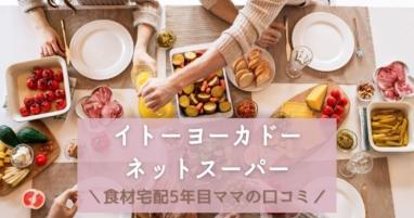 イトーヨーカドーネットスーパーを口コミ評価食材宅配利用歴5年ママのブログ紹介