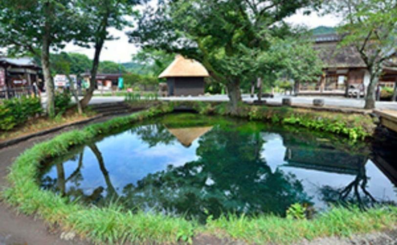 富士山山中湖忍野八海涌池